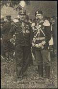 Открытка с фотографией графа, генерал-майора Григория Ивановича Ностица