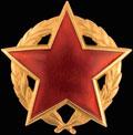 Знак ордена Партизанской звезды I степени