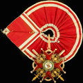 Знак ордена Святого Станислава II степени с мечами