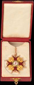Знак ордена Святого Станислава III степени