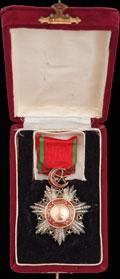 <b><i>Турция. </i></b>Знак ордена Меджидие IV степени