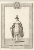 Гравюра «Орденское одеяние Обер-церемониймейстера всех Орденов»