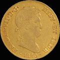 4 эскудо  1820 г.