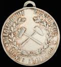 Жетон «VII Международный геологический съезд. 1897»