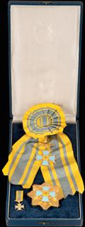 Комплект ордена летчиков II степени: