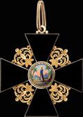 Знак ордена Святой Анны I степени
