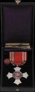 Серебряный орден за заслуги Общества японского Красного Креста
