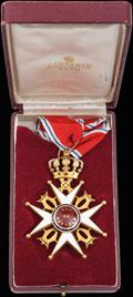 <b><i>Норвегия. </i></b>Знак ордена Святого Олафа