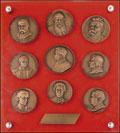 <b>Лот из девяти медалей:</b>