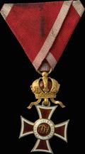 Знак кавалера ордена Леопольда
