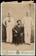 Фотография матросов катера Его Императорского Величества