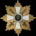 Звезда креста храбрых II степени с мечами. (Генерал-майор С.Н.Булак-Булахович).