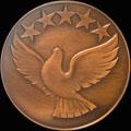 Медаль Чемпионата мира по велогонкам. Москва 1986 г.
