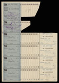 Всесоюзное объединение «Торгсин». Именная расчетная книжка. 1935 г.