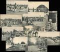 Лот из 10 фото-открыток с видами Мерва: