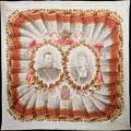 Платок «В память священного коронования Николая II и Александры Федоровны»