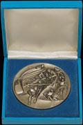 Памятная медаль участника XIII Зимних Олимпийских игр в Лейк-Плэсид