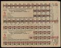 Всесоюзный трест по рабочему снабжению золотой промышленности «ЗОЛОТОПРОДСНАБ». Продуктовая и хлебная заборная книжка 1934 г.