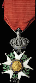 Франция. Вторая Империя (1852-1870). Знак кавалера ордена Почётного Легиона (V степень) (Legion d'Honneur)