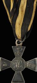 Знак отличия военного ордена Святого Георгия без степени № 3729