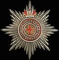 Звезда ордена Святой Анны с императорской короной