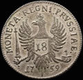 <i>Кенигсберг (Калининград).</i> <b>18 грошей 1759 г.</b>