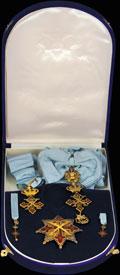 <b><i>Италия.</i></b> Комплект Константиновского ордена Святого Георгия I и II степени: