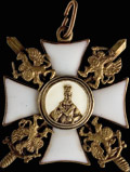 Знак ордена Святителя Николая Чудотворца с мечами