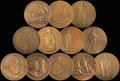 Полная серия медалей «Жизнь и деятельность Ленина»
