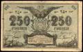 Семиречье. Кредитный билет 250 рублей 1919 г.