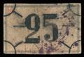 Иркутск. Первое Иркутское лото. 25 (рублей)