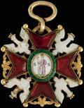 Знак ордена Святого Станислава III–IV степени