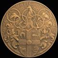Памятная медаль участника XVI Летних Олимпийских игр в Мельбурне