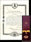 <b><i>Венесуэла.</i></b> Комплект II класса ордена Франсиско Миранды: