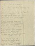 Посвящение в стихах в честь 100-летия Лейб-гвардии конно-гренадерского полка В.Д. Дитерихса фон Дитрихштейна