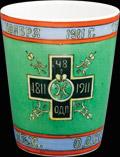 Стакан 48-го пехотного Одесского полка «В память столетней годовщины полка»