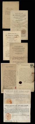 Архив наградных и личных документов подполковника Михаила Федоровича Ножина и членов его семьи