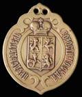 Знак председателя Волостного суда Курляндской губернии