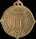 Знак аульного старшины Акмолинской области.