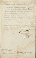 Указ о пожаловании полковника Войска Донского Грекова 8-го золотой саблей с надписью «За храбрость»