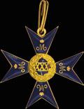 Знак отличия за 30 лет беспорочной службы в Ведомстве Императрицы Марии