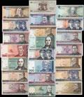Литва. Лот из 22 банкнот: