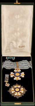 <b><i>Бразилия.</i></b> Комплект Гранд-офицера ордена аэрокосмических заслуг: