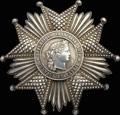 Франция. Третья республика (1870-1951). Звезда ордена Почётного Легиона (Légion d'Honneur)