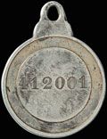 Знак отличия ордена Святой Анны № 412 001