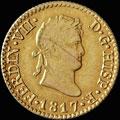 ½ эскудо 1817 г.