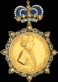 «За взятие двух шведских судов в устье Невы. 6 мая 1703 г.»