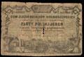 Польша. Грубешов. 1 польский злотый 1864 г.