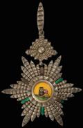 Персия. Знак ордена Льва и Солнца для иностранных подданных