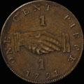 1 цент 1791 г.